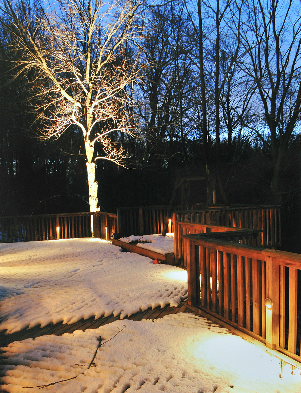Deck And Patio Combination Designs: Pittsburgh Deck And Patio Lighting