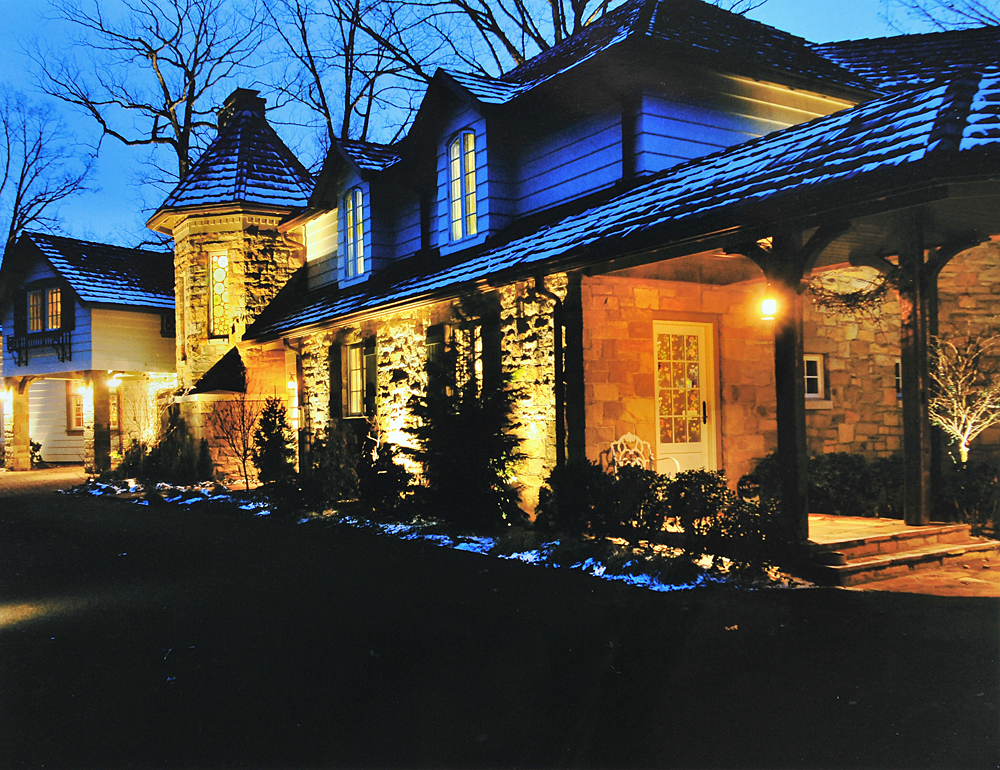 Exterior Lighting: Pittsburgh Residential Outdoor Lighting