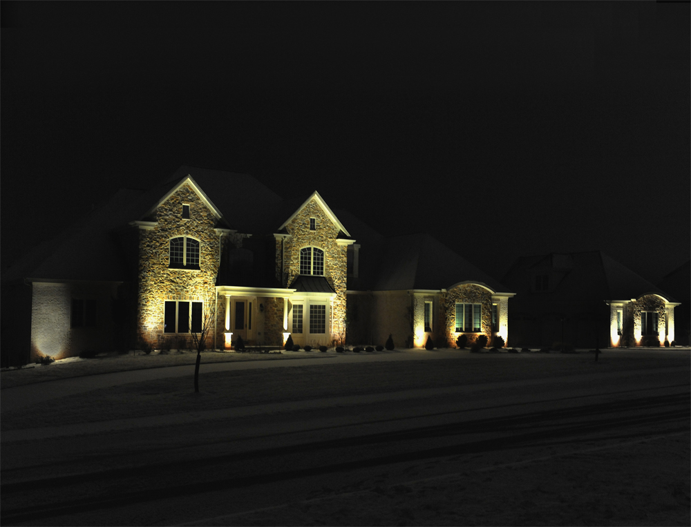Pittsburgh Residential Outdoor Lighting